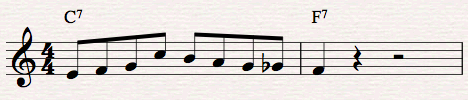Lick example
